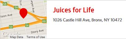 Juice Bar Address