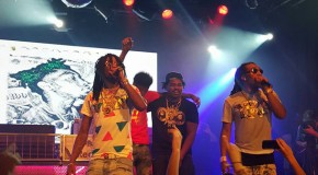 "Migos Receive Gold Plaque During NYC Show, New Album ""YRN"" IN STORES NOW!!!"