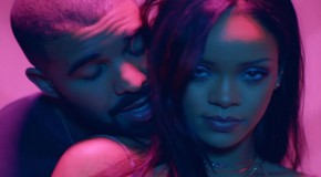 "WATCH: Rihanna x Drake ""Work"" Video (Both Versions) On GoodFellaz TV"