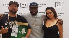 PHOTOS: The GoodFellaz Attend The 50 Cent/ Effen Vodka In-Store Event In The Bronx