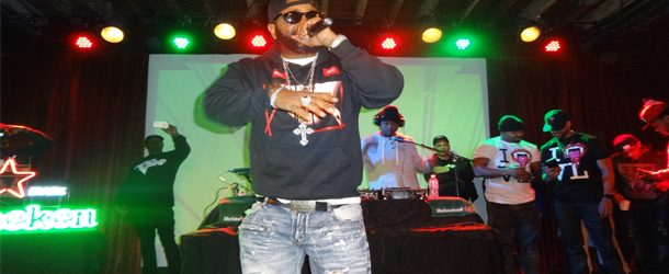 WATCH: Jim Jones Performs @ The Heineken Show In NYC
