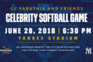 EVENTS: CC Sabathia Hosts Celebrity Charity Softball Game At Yankee Stadium On June 28th, Get Your Tickets Now