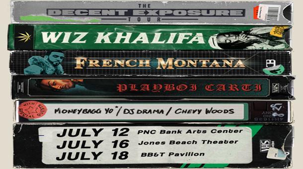 "c451baf6e4d7 CONTEST: Win Tickets For The ""Decent Exposure Tour"" f/ Wiz Khalifa x French  Montana x Playboi Carti & More on GoodFellaz TV: #GFTV #Contest"